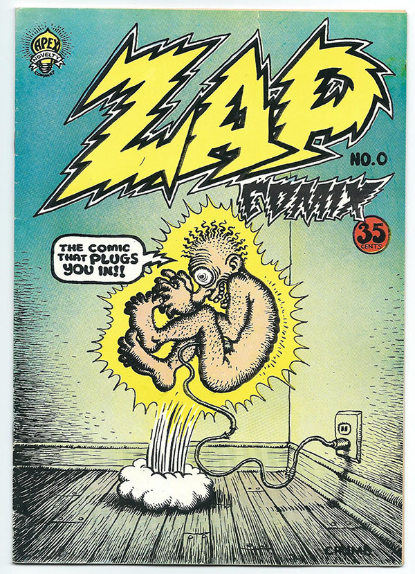 Image for Zap Comix No. 0