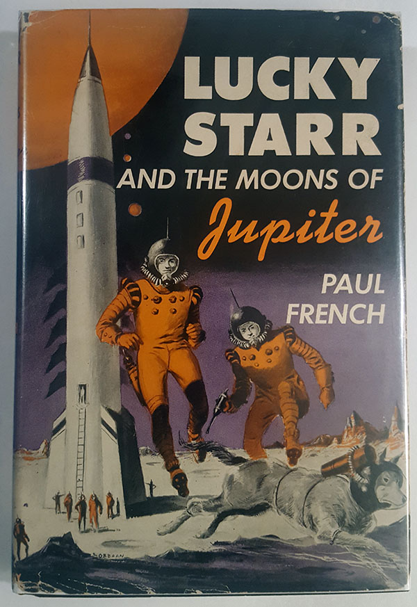 Image for Lucky Starr and the Moons of Jupiter