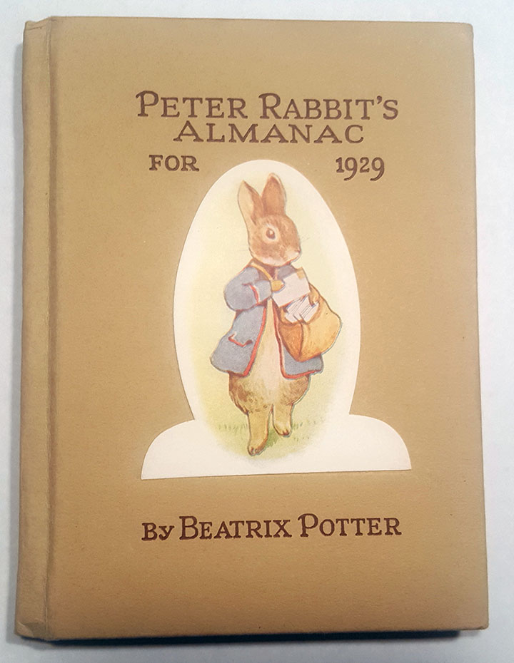Image for Peterr Rabbit's Almanac for 1929