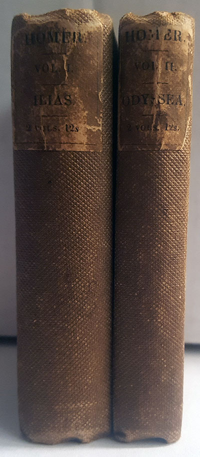 Ilias et Odysseia (Iliad and Odyssey) 2 Volumes