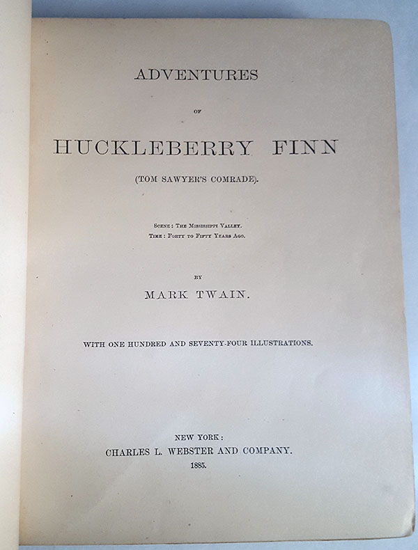 Image for Adventures of Huckleberry Finn