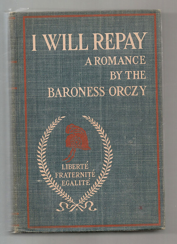 Image for I Will Repay