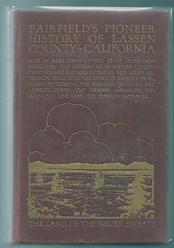 Image for Fairfield's Pioneer History of Lassen County, California