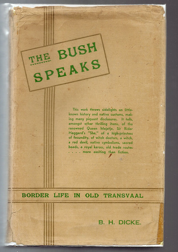 Image for Bush Speaks, The